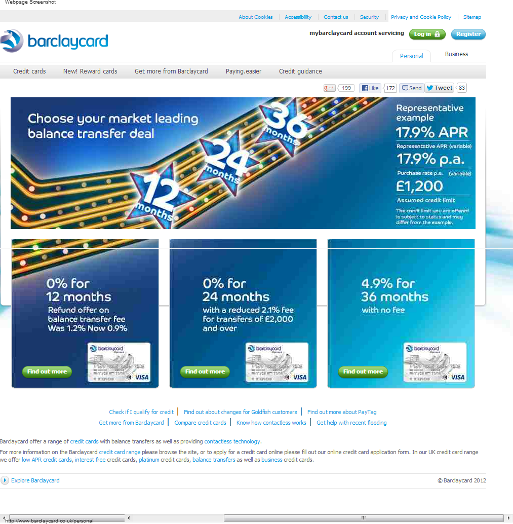 Barclaycard Credit Card Www Barclaycard Co Uk: Barclaycard Credit Card @ Www.barclaycard.co.uk