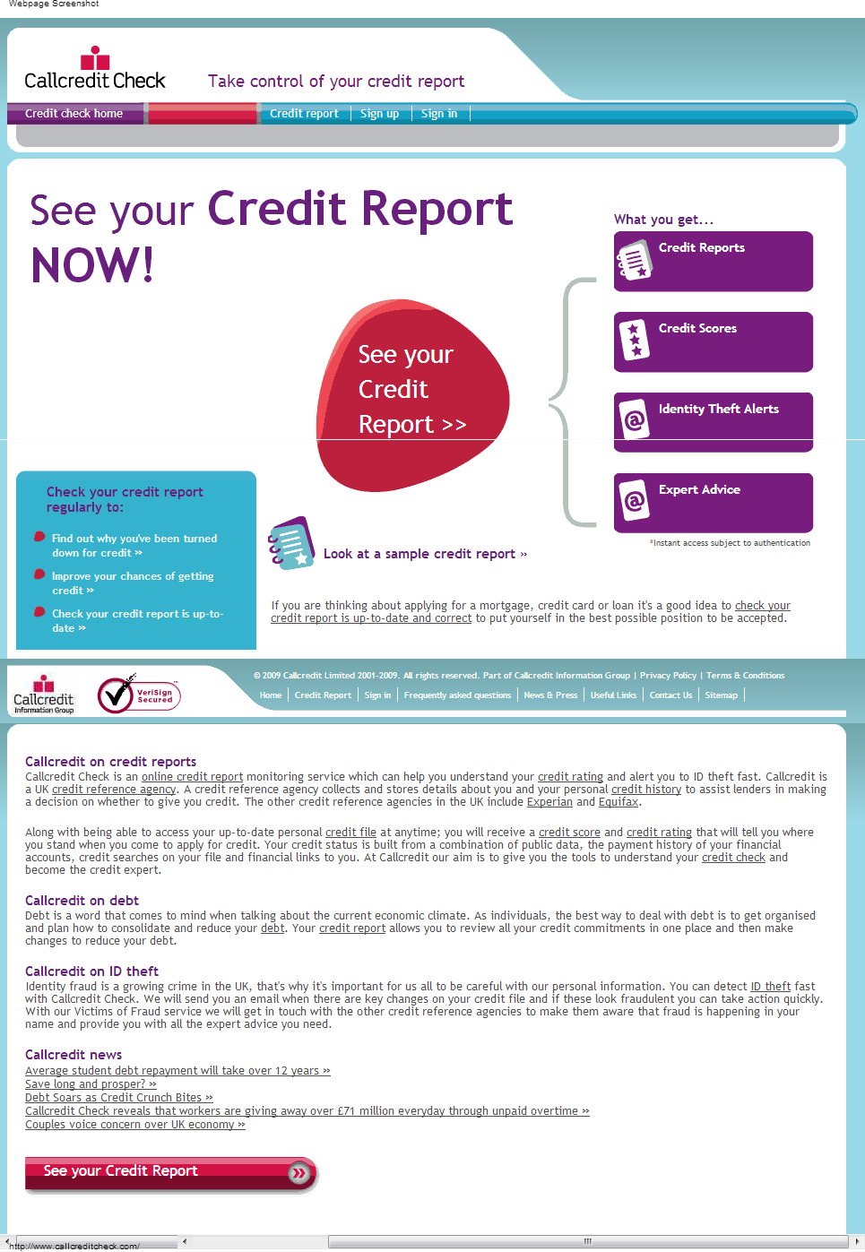 CallCredit Check
